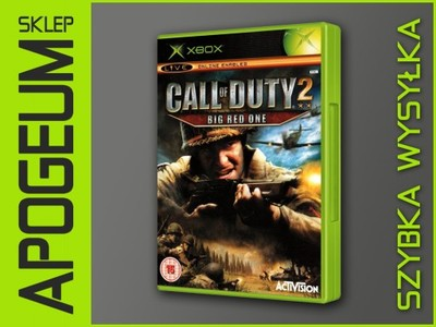 CALL OF DUTY 2 BIG RED ONE / 24H / XBOX / APOGEUM