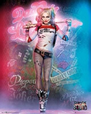 Legion Samobójców Harley Quinn Plakat 40x50 Cm