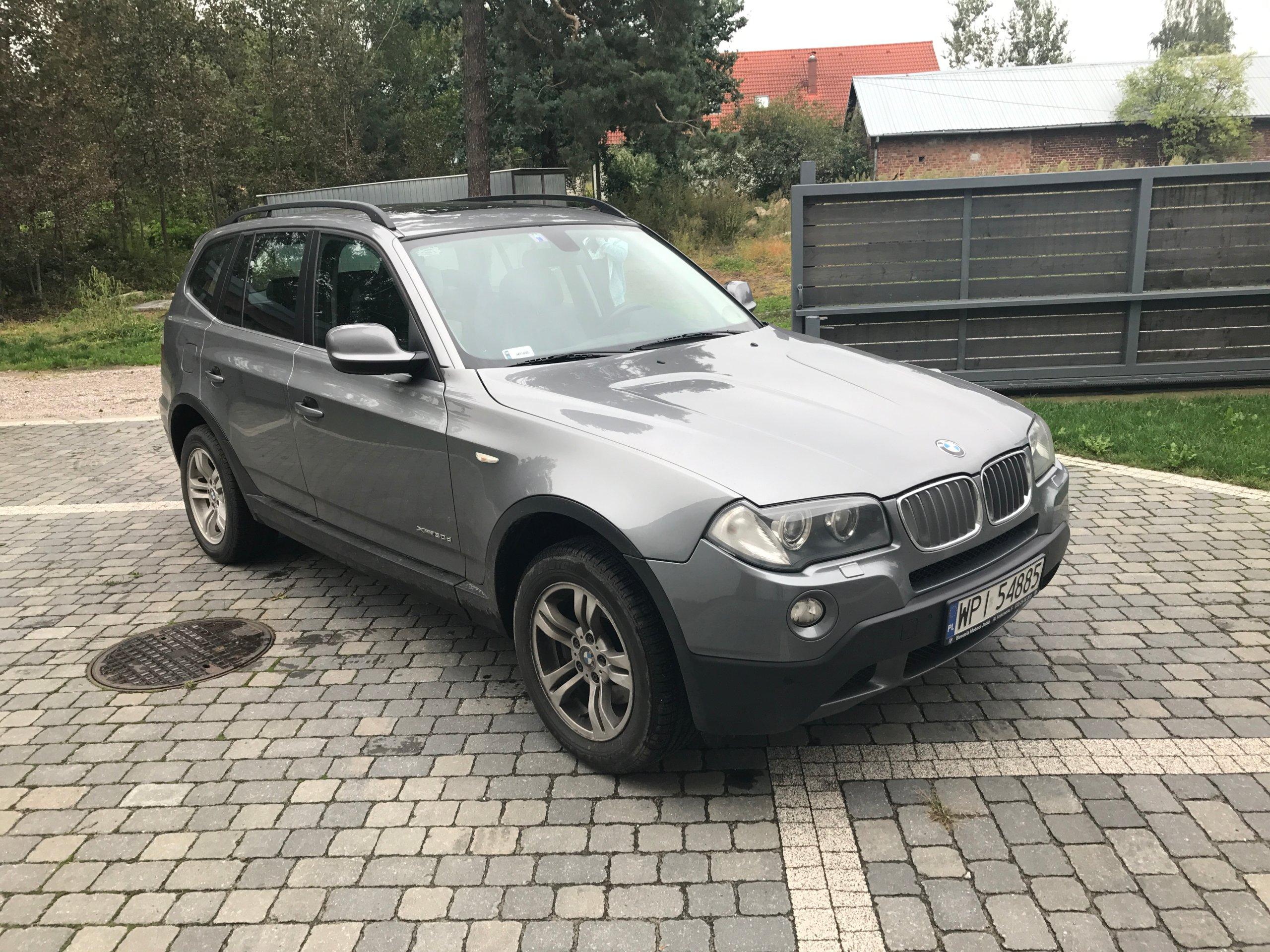 BMW X3 XDRIVE 3 0D oficjalne archiwum allegro