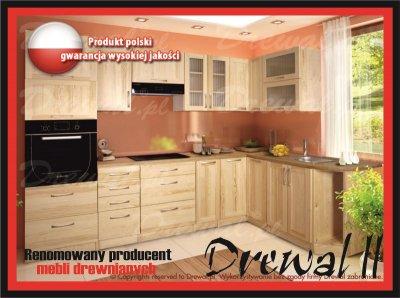 Meble Sosnowe Drewniane Kuchnia Producent Drewal2 6052631854