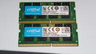 Crucial 2x8GB DDR4 SODIMM, 100% OK