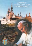 LICHEŃ - PIELGRZYMKA - JAN PAWEŁ II - PAPIEŻ 1999