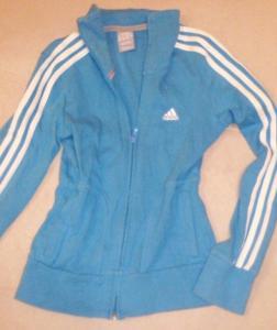 ADIDAS bluza damska S niebieska błękitna 36 S 5993744091