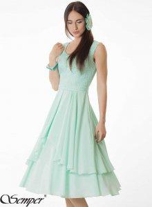 157068a593 sukienka na wesele miętowa rozmiar 36 - 6408433561 - oficjalne ...