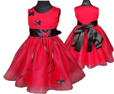 bf44be9081 Imprezowa sukienka Holly RED tiul 56 - 6971488177 - oficjalne ...