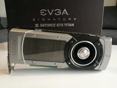 EVGA GeForce GTX TITAN 6GB Superclocked Signature