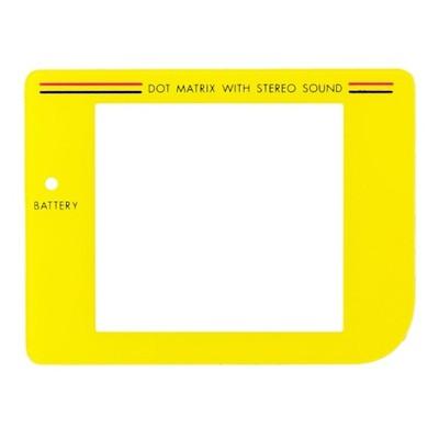Szybka ochronna ekranu konsoli GB Classic [Żółta]