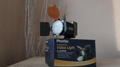 Lampa Profesjonal Phottix do kamery