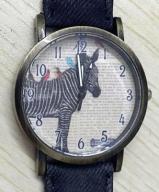 Zegarek Damski Zebra Retro Jeans 1zł BCM wys z PL