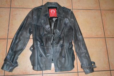 7e8f65050a725 Esprit kurtka skóra brązowa roz XL piękna!! - 6002762650 - oficjalne ...