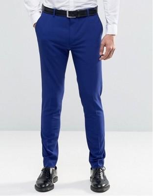 h36 spodnie exASOS super skinny eleganckie W36 L32