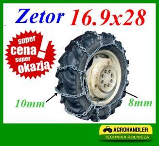 ŁAŃCUCHY PRZECIW ŚNIEGOWE ZETOR 7211 16.9x28 8mm