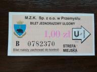bilet u99 Przemyśl rew. CHROBRY