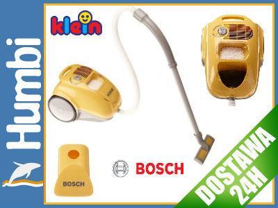KLEIN 6815 Odkurzacz dla dzieci Żółty BOSCH dźwięk : Humbi.pl