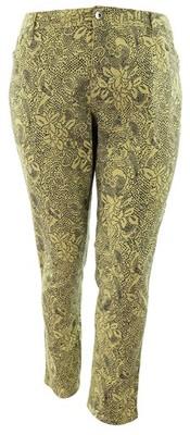 gN2220 beżowe spodnie we wzory 48