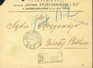 1922 - Janów Siedlecki - polecony