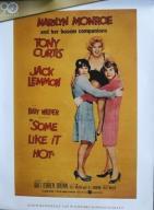 Pół żartem, pół serio - Marilyn Monroe - plakat