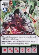 Cyborg - Exeptionally Gifted  [GamesMasters]