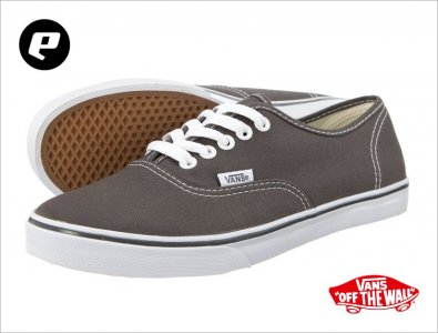 Trampki Vans Authentic Lo Pro 195 (35) szare 6143905293