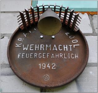LAMPA NAZISTOWSKA Z BUNKRU nazi SS hitler NSDAP