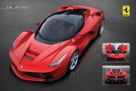 Ferrari Laferrari- plakat 91,5x61 cm