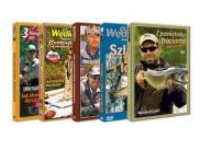 Pstrągi Trocie i Łososie - Zestaw 5 filmów WMH DVD