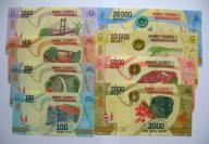 Madagaskar Zestaw 100-20000 Ariary 2017 PIĘKNY !!!