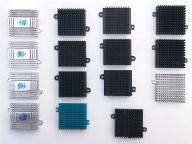 Aluminiowe radiatory 41_42x45x11_12 do mocowania