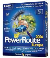 Geografix POWER ROUTE 2006 EUROPE G-Data Software