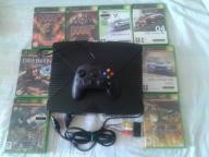 konsola xbox.pad.okablowanie 8 gier HITY