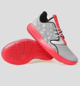 Juniors NIKE JORDAN ECLIPSE BG Grey Trainers 724042 023 for