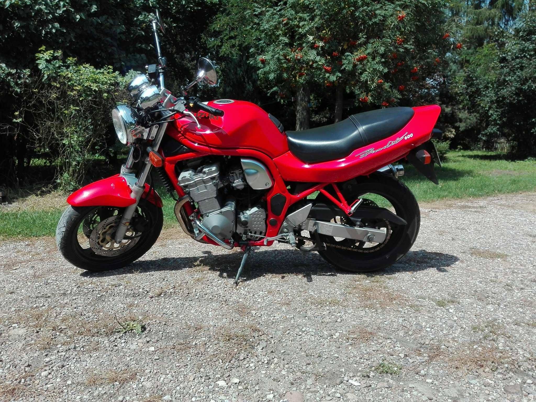 Suzuki Bandit Gsf 600 7039955957 Oficjalne Archiwum Allegro