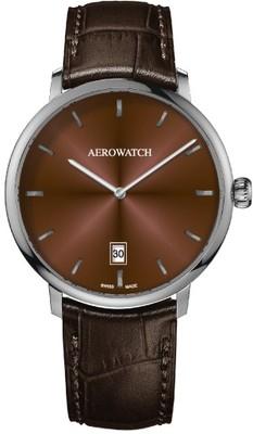 Aerowatch Heritage Slim Automatic E 67975 AA TABAC