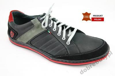 Buty sportowe męskie Materiał Skóra naturalna Rozmiar 43