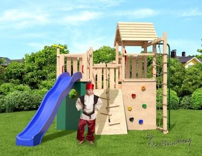 Niemiecki Drewniany Plac Zabaw Kon Tiki Neo 2 6334876135