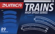 Dumica Curved rail set R9
