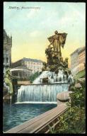 Szczecin Stettin Manzelbrunnen 1910