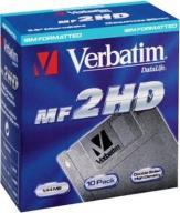 VERBATIM DATALIFE MF-2HD - 10szt + pudełko bundle