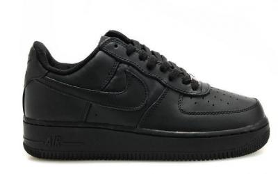 Nike Air Force 1 low '07 'All Black' ✔️ 315122 001