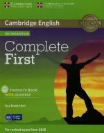 Complete First Students Book with answers + CD