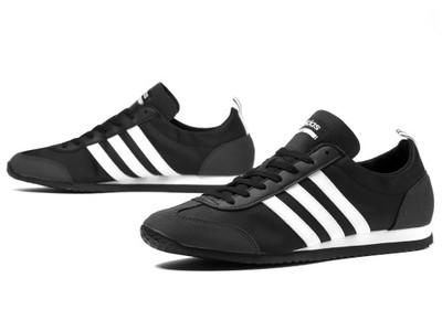 buty adidas vs jog w czarne