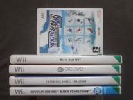 Gry Wii sport komplet 5 gier plus GRATIS Wii sport
