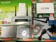ROUTER TP-LINK TL-MR3420 + PUD + CD  + PAP + KABL