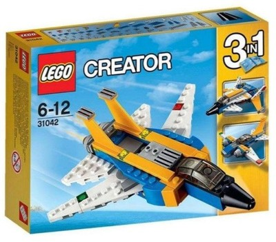 Lego Creator 31042 Super Odrzutowiec 3w1