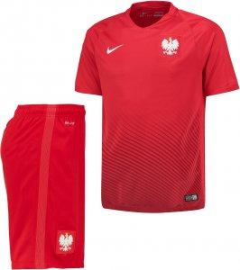 3e58ccd782f6 Strój Nike Polska  koszulka + spodenki Polski r. S - 6402340135 ...