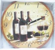 Zegar ścienny do kuchni w stylu Decoupage 30cm
