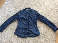 Koszula Mango granatowa,rozmiar M