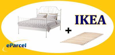 Ikea Leirvik Rama łóżka 160x200 Dno łóżko Biały