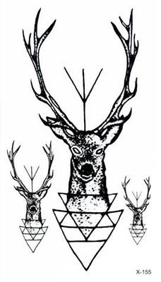 Tatuaż Zmywalny Tatuaże Mały Jeleń X 155 105x6 6903635721