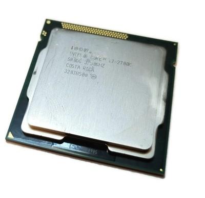 Intel i7-2700k 8x3.5GHz LGA1155 OEM 24mc Gwar